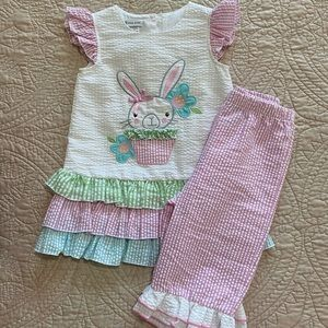 Bonnie Jean - 2 piece Bunny Outfit